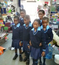 News Item more than 200 kids to school